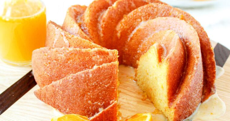 Whole Orange Butter Cake