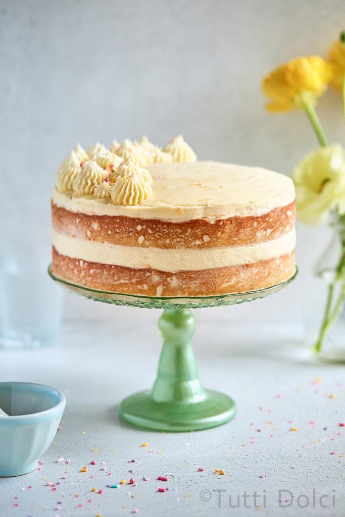 TUTTI DOLCI RUM TANGERINE LAYER CAKE