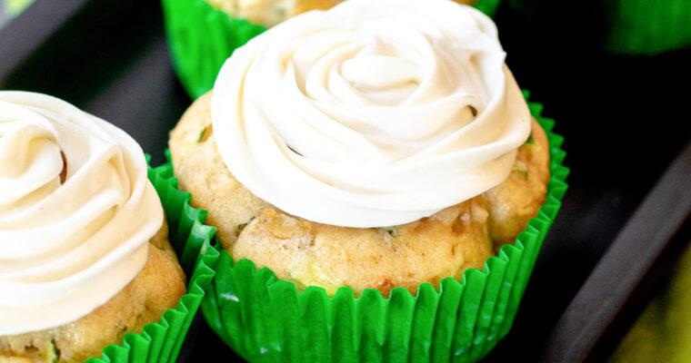 Caramel Apple Zucchini Muffins