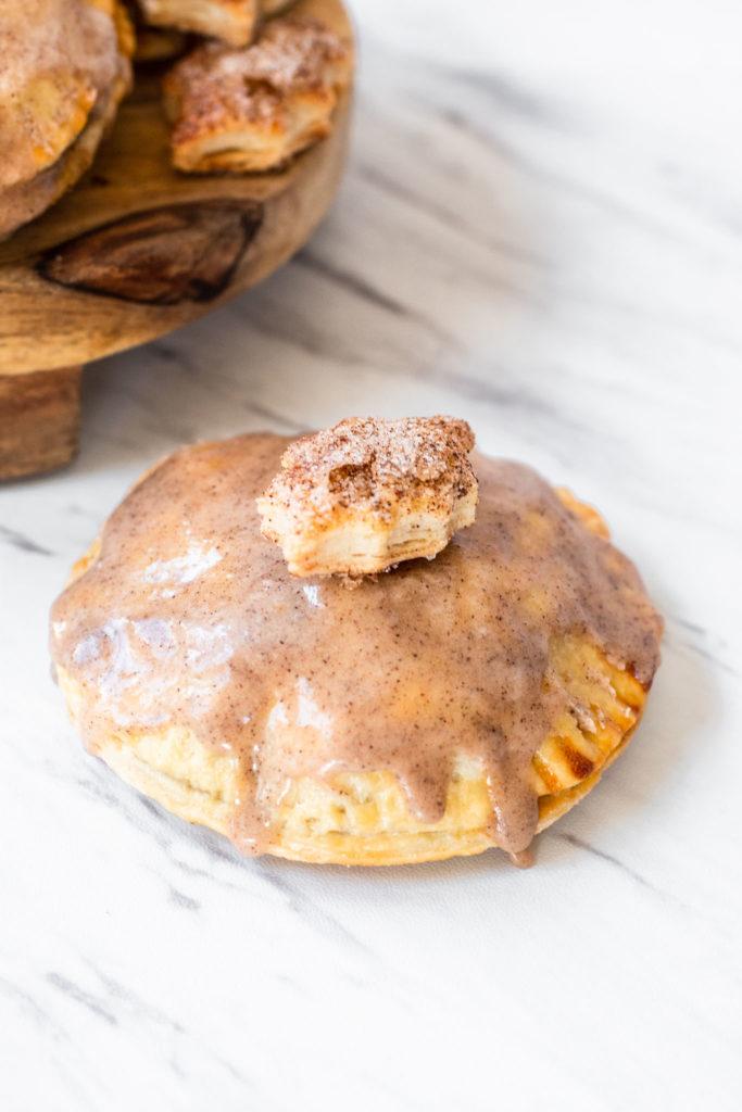 Apple Brown Sugar Hand Pie with Glaze