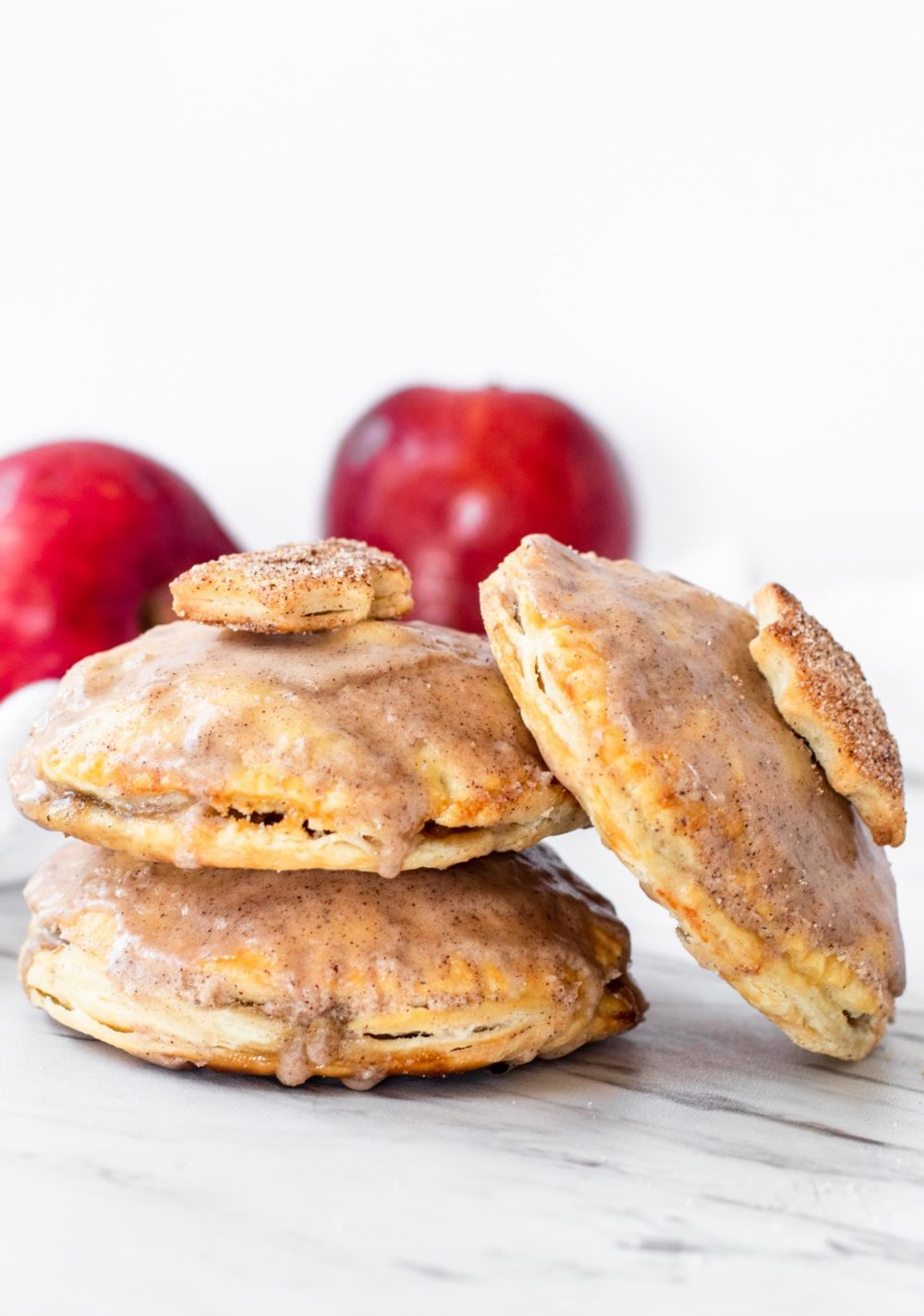 Apple filled hand pies