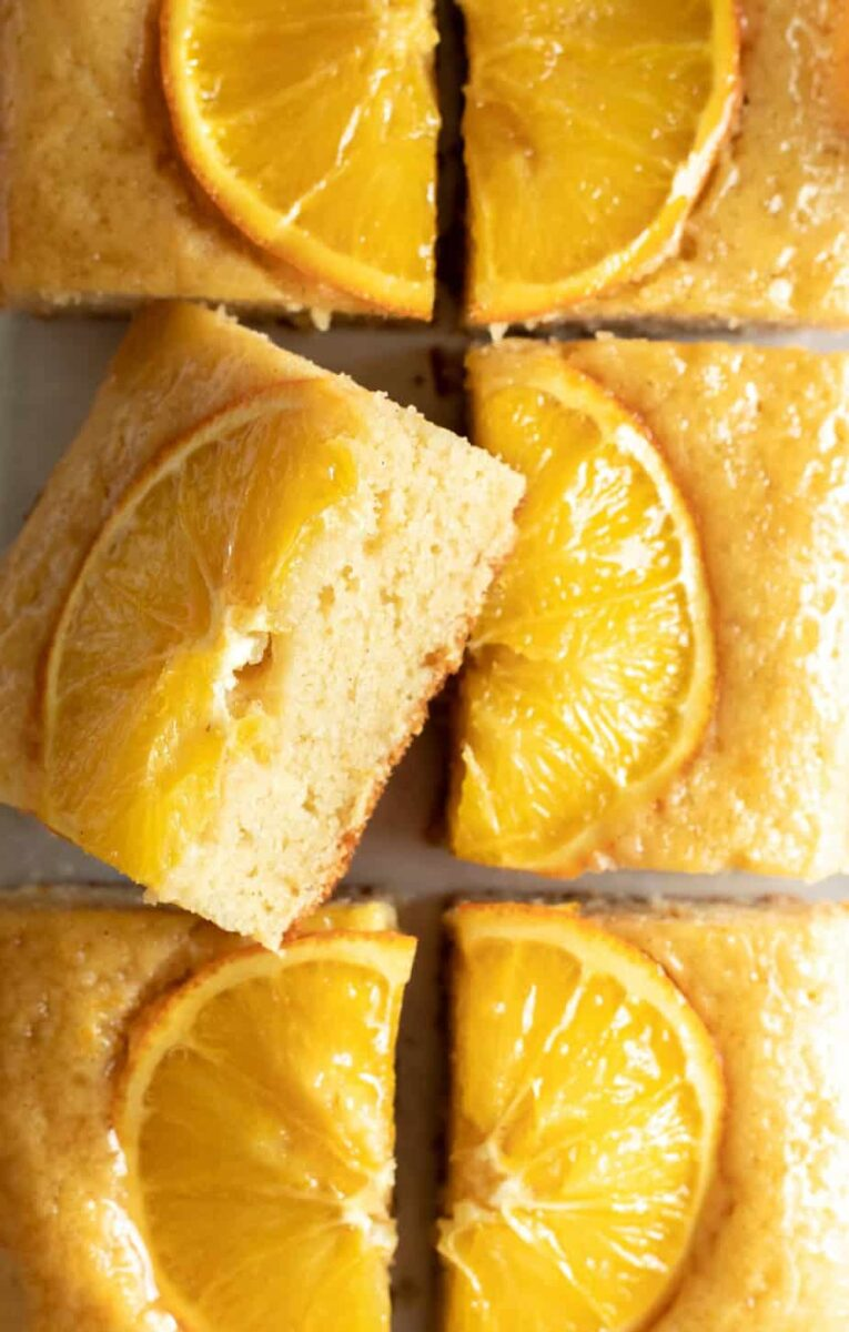 Honey Orange Snack Cake