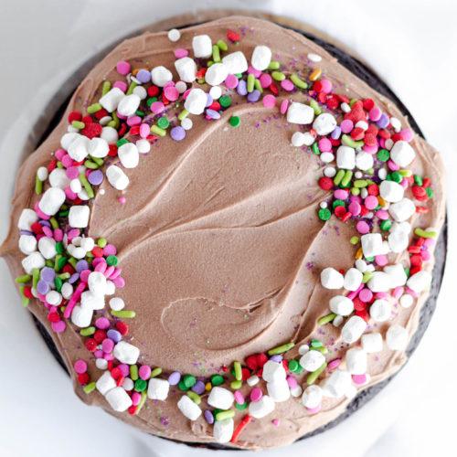 Easy Mini Chocolate Cake