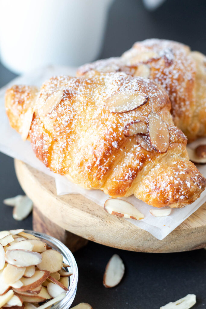 Classic Croissants with Almond