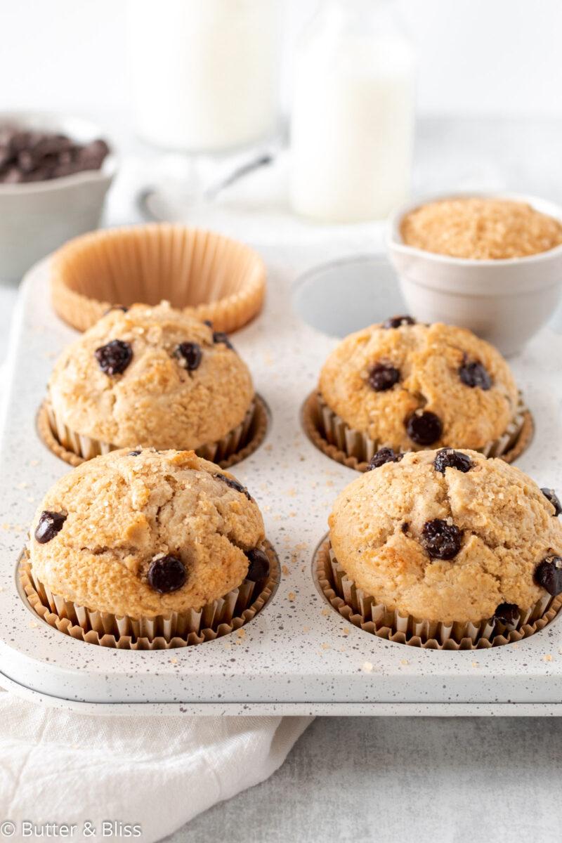 Small batch of breakfast muffins
