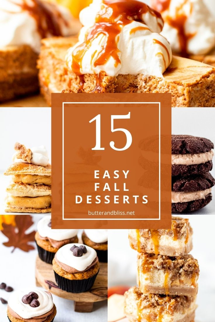 15 desserts for fall