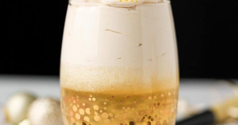 Sparkling Apple Cider Parfaits