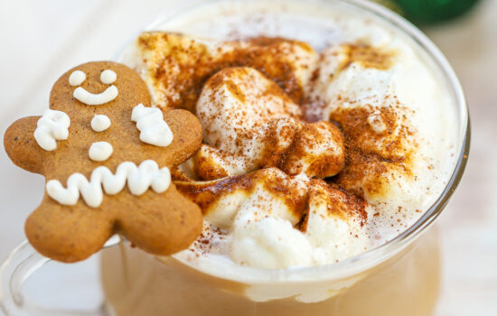 Gingerbread Latte – Homemade Syrup