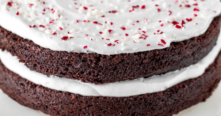 Peppermint Mocha Layer Mini Cake