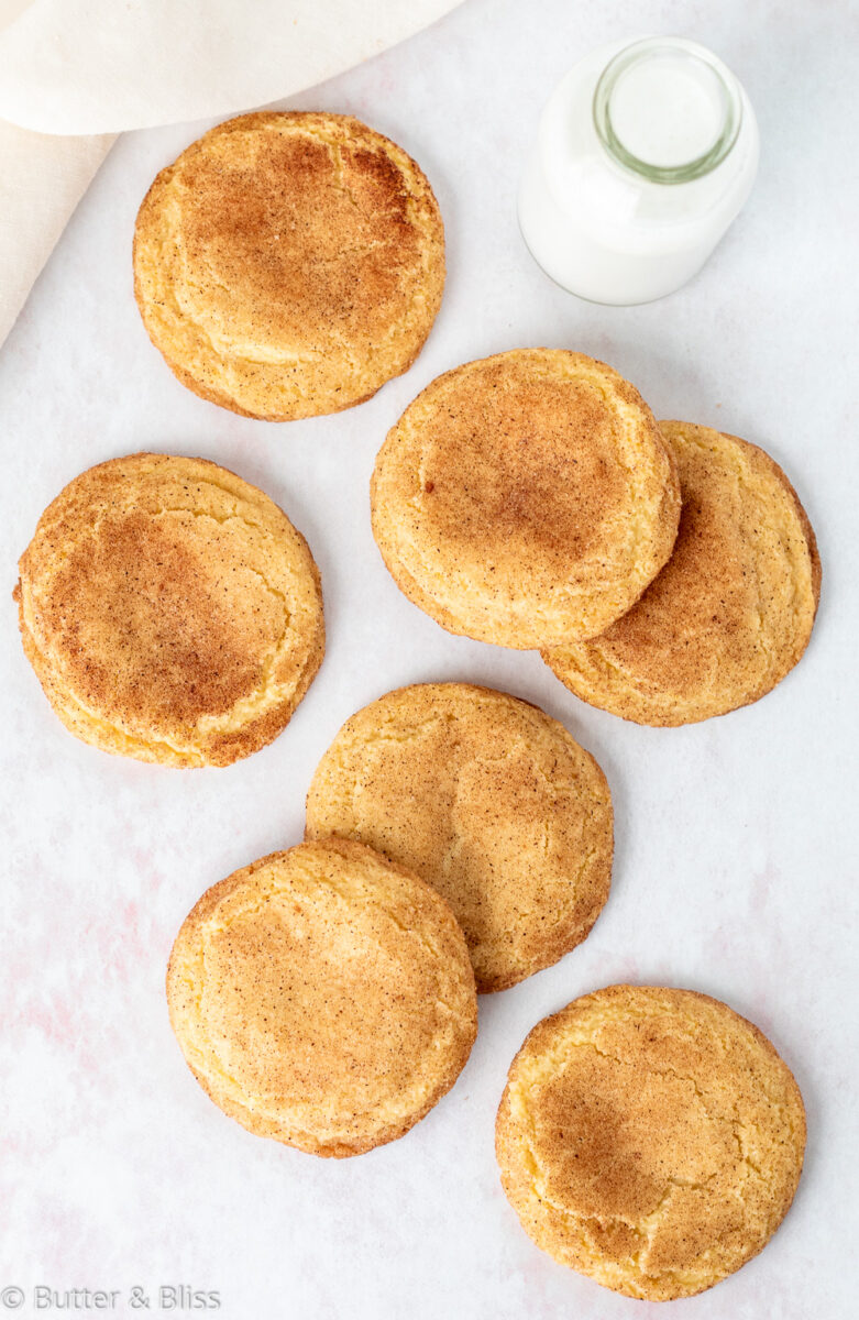 Table full of Snickerdoodles