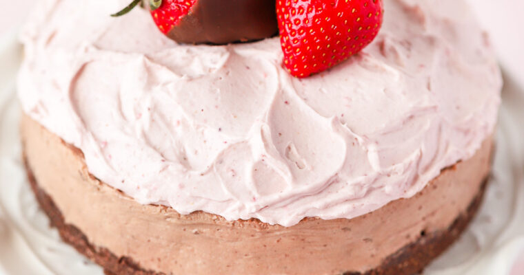 No-Bake Chocolate Mousse Cheesecake