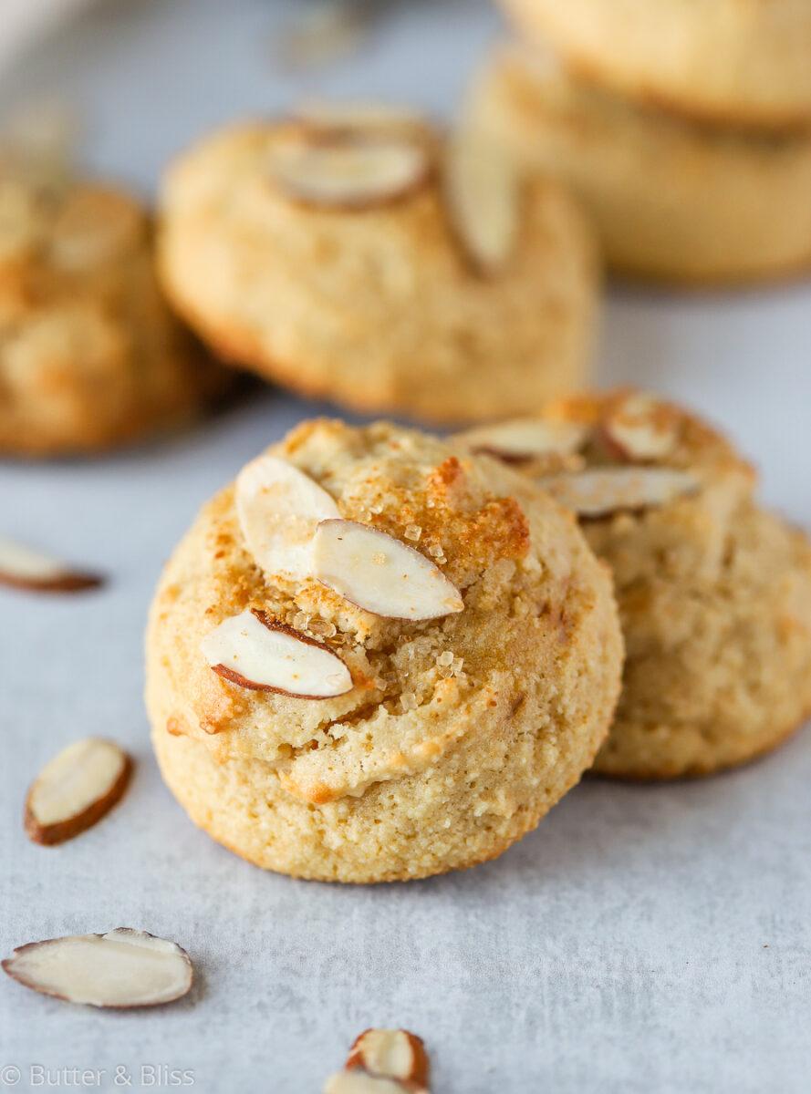 Gluten free almond flour cookies