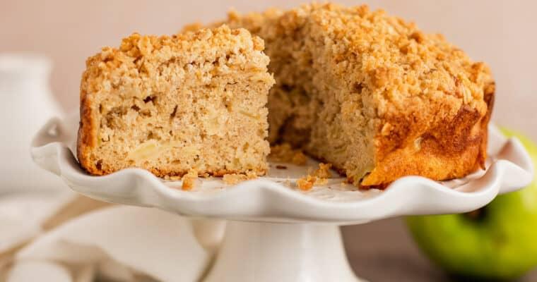 Irish Apple Mini Cake