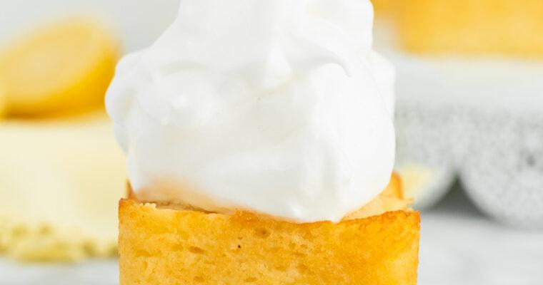 Mini Sweet Lemon Cakes