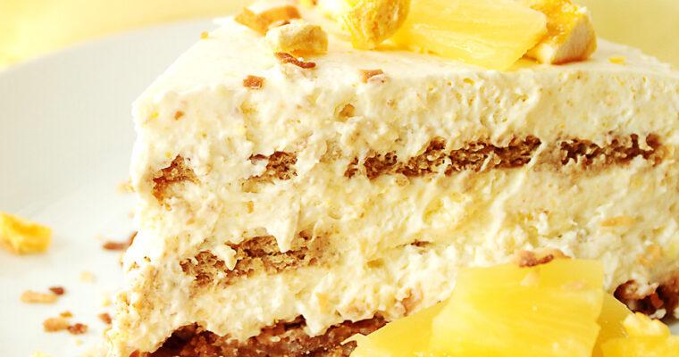 Pineapple Mango Icebox Cake