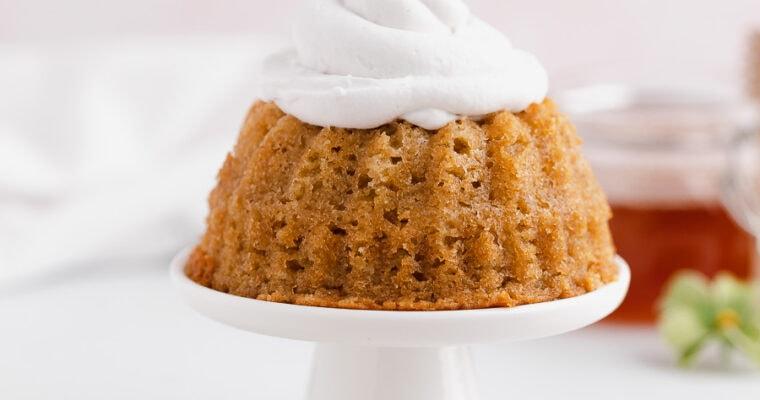 Honey and Orange Mini Bundt Cakes