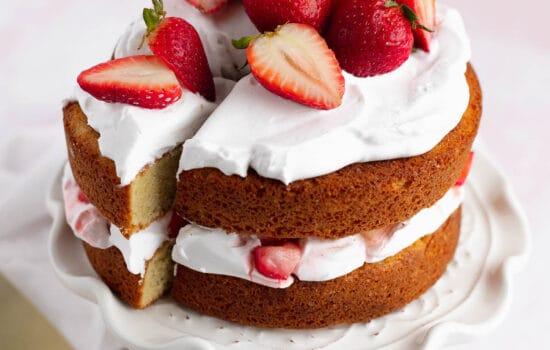 Strawberry Shortcake Mini Cake – Gluten Free