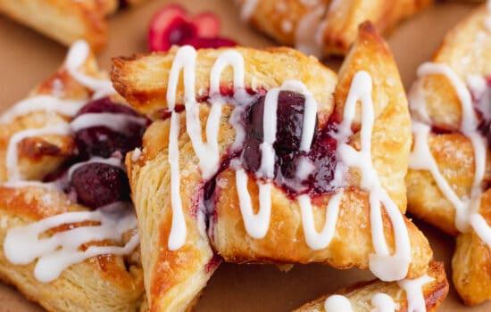 Homemade Pinwheel Danish Pastries